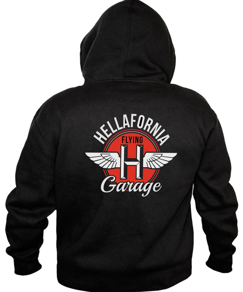 Image of Flying H Garage Hoodie