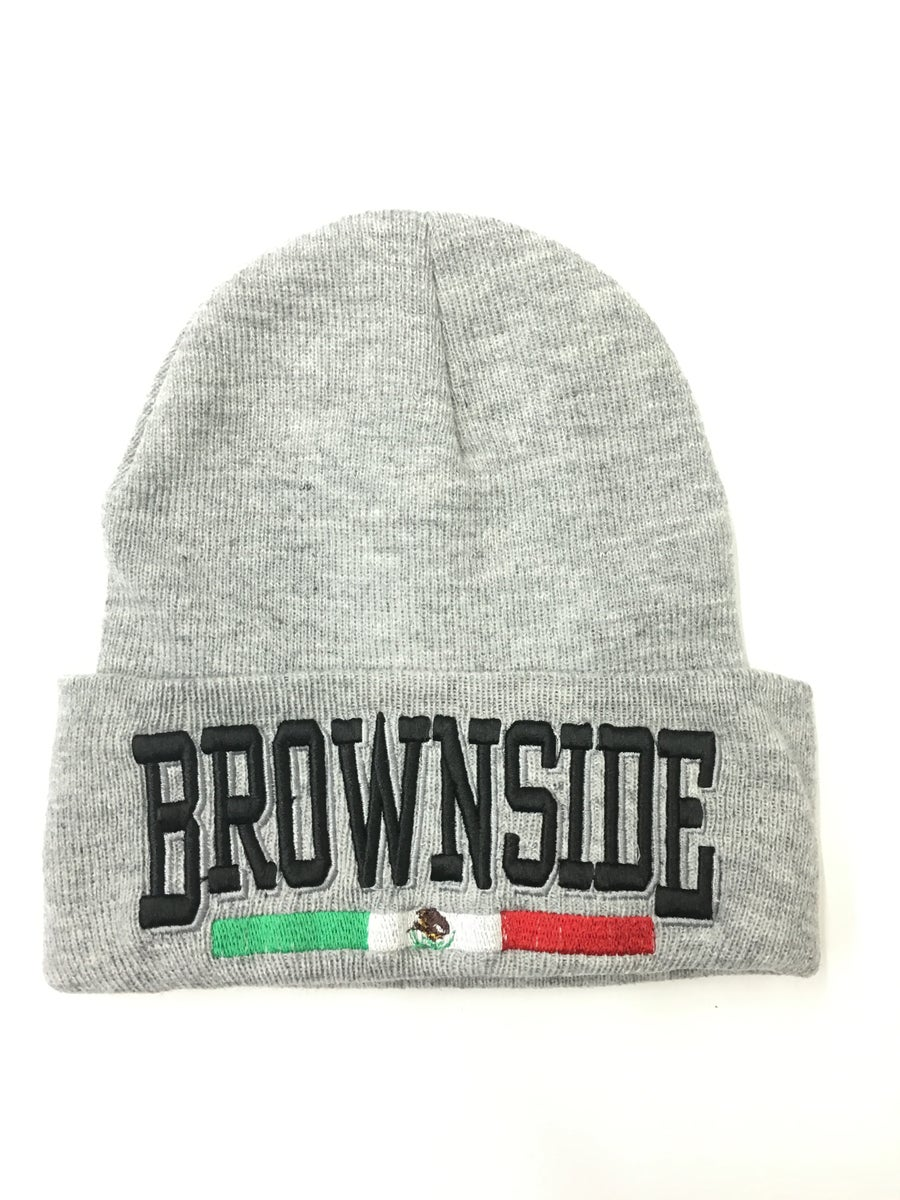 Image of BROWNSIDE LOGO BEANIE
