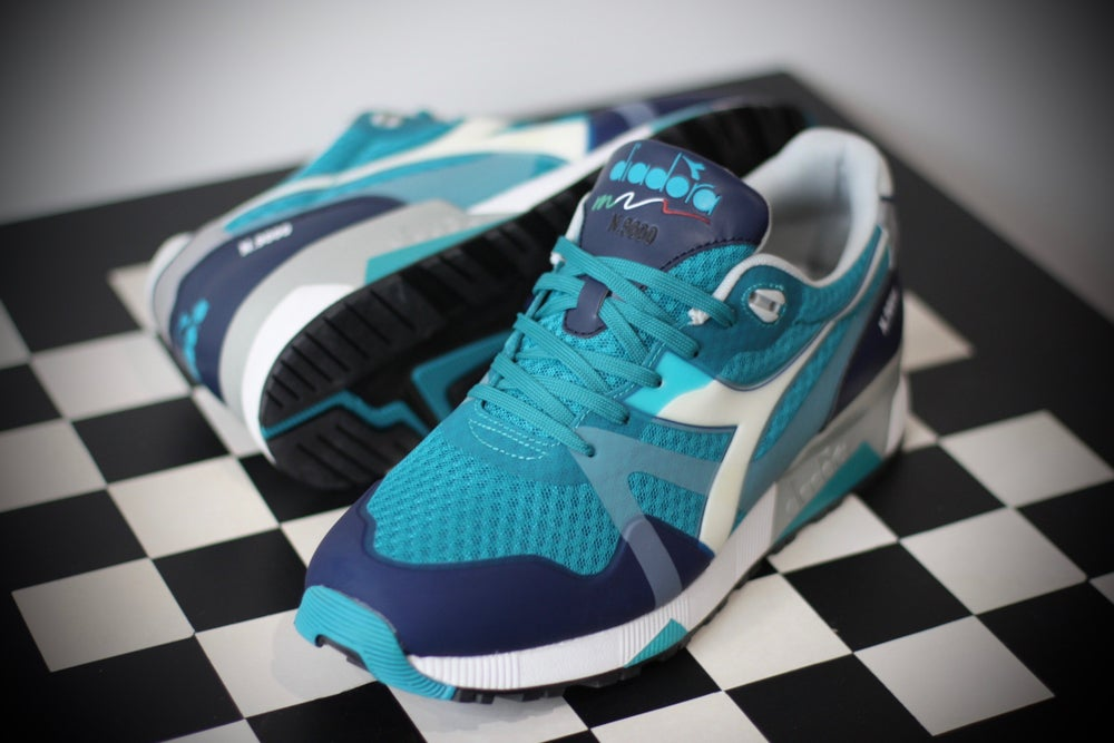 Image of DIADORA N9000 MM TEAL & DARK BLUE