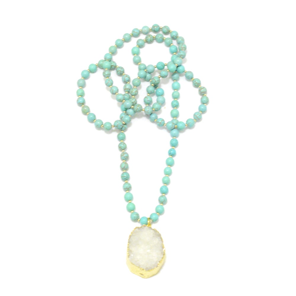 Image of Gemstone Mala Necklace