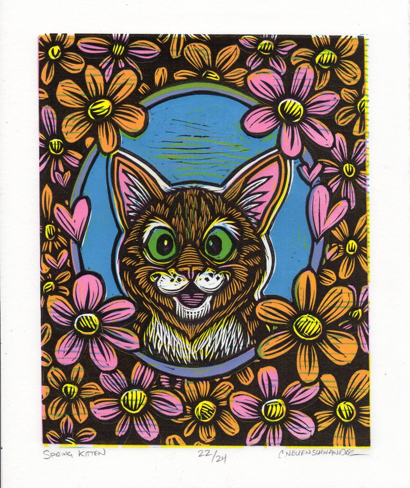 Image of Spring Kitten print
