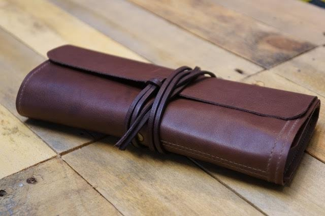 Image of Artists Leather Pen Roll