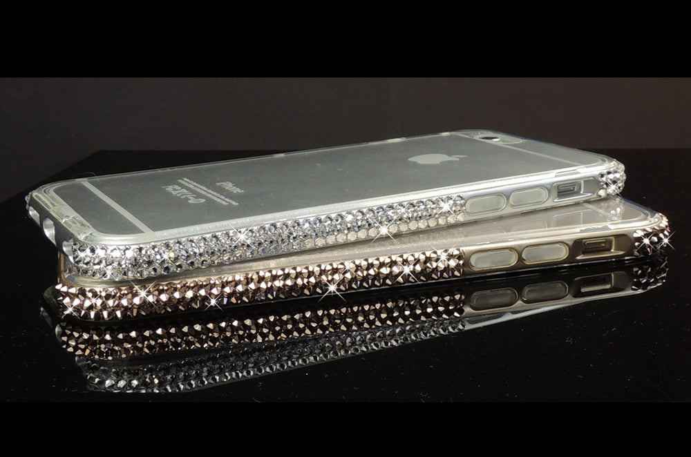 Image of CLEARANCE Crystal Bumper Cases