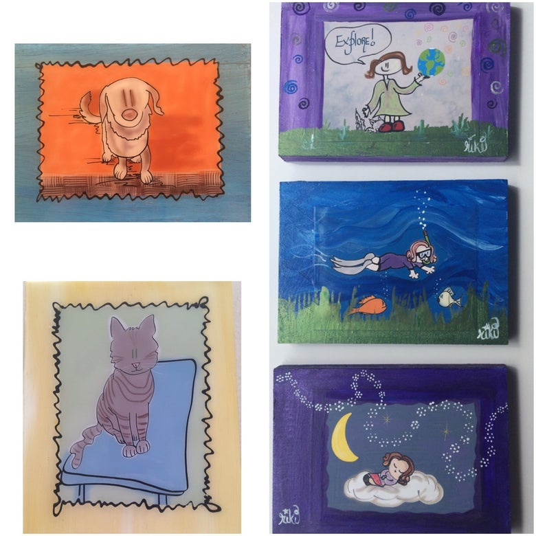 Image of Personalized mixed media creations