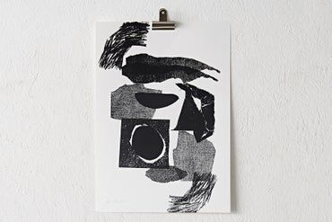 Image of 'Collage' Screen Print