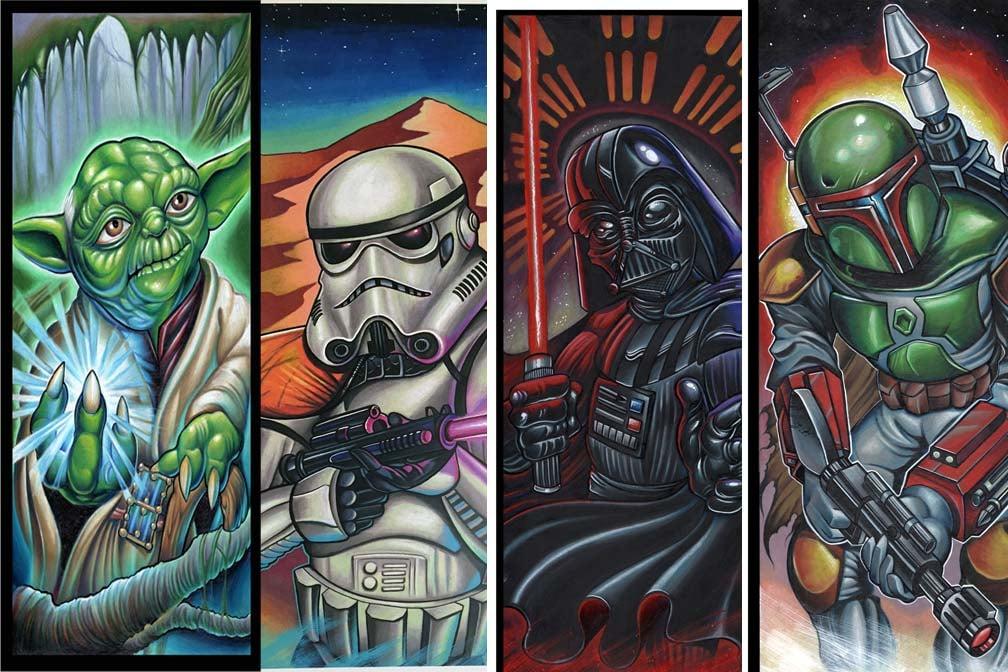 Image of Star Wars 4 Print Set