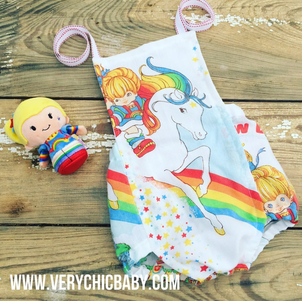 Image of Rainbow Brite Romper