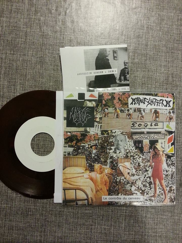 "Image of C.36 Adolf Shitter / Hades Mining Co. split 7"" vinyl"