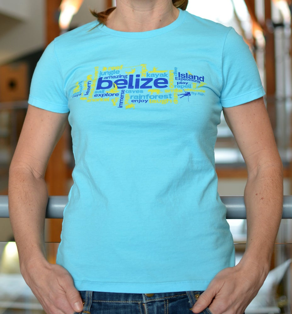 Image of Wordy Belize - Women's Tee