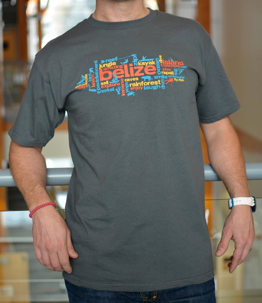 Image of Wordy Belize - men's Tee