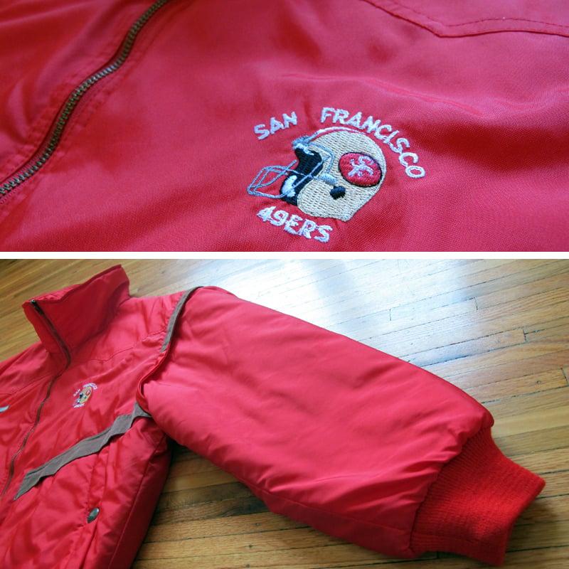 Image of Vintage 49ers Jacket by Colmar