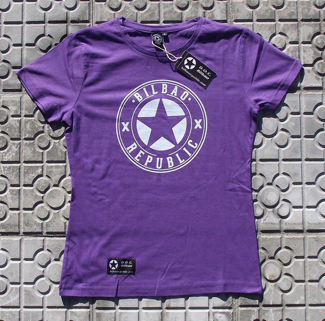 Image of Camiseta chica Morada Somera