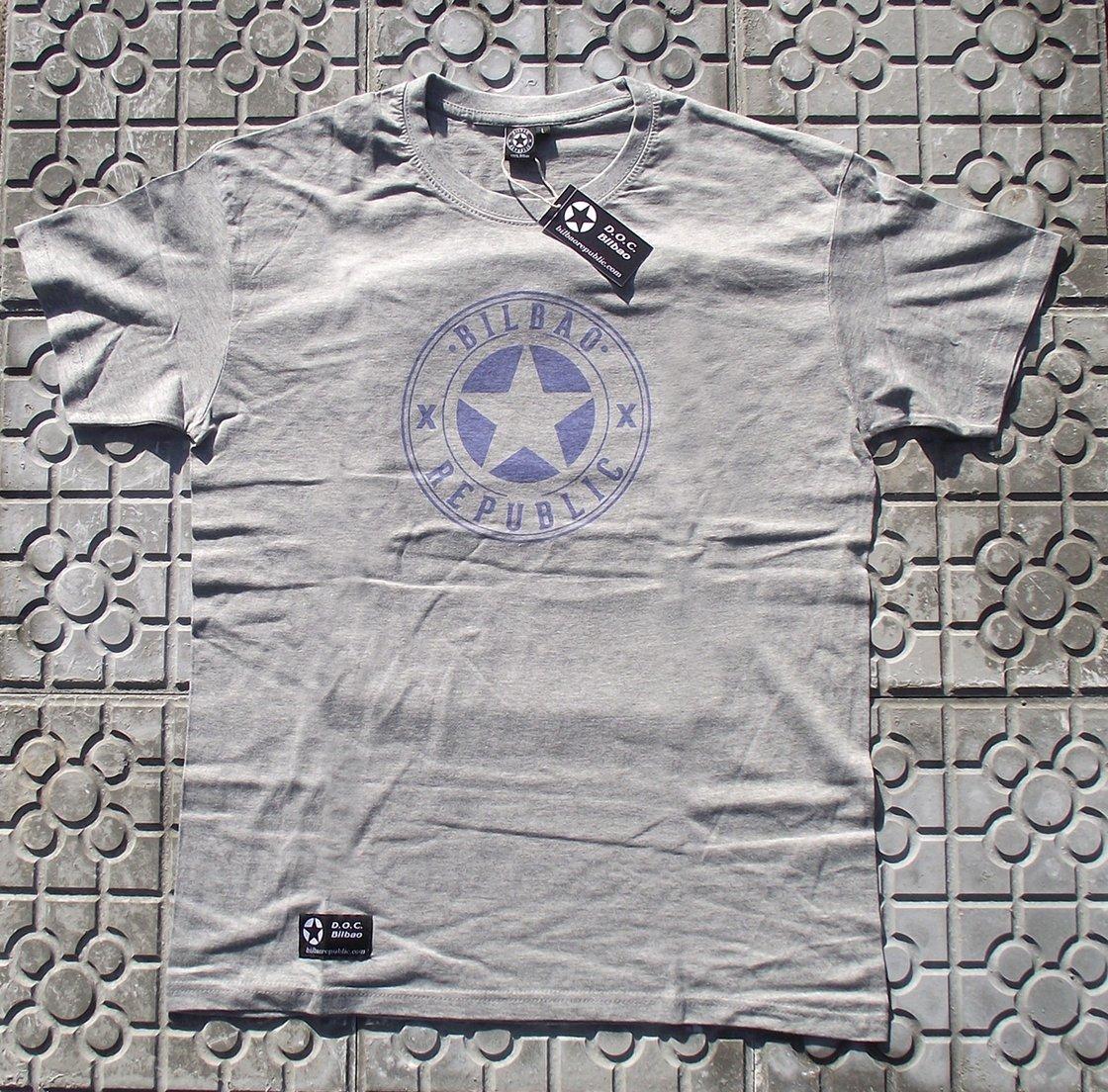 Image of Camiseta unisex Gris Xirimiri