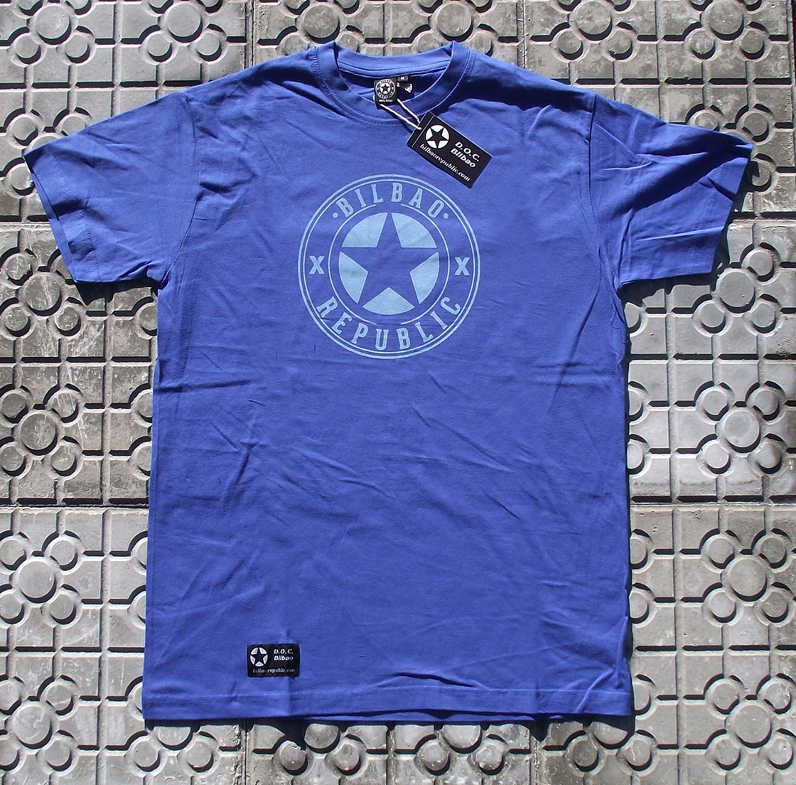 Image of Camiseta unisex Azul Bilbao