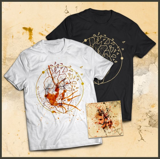 "Image of Pack CD ""Sé qué se siente"" + Camiseta Negra XL"