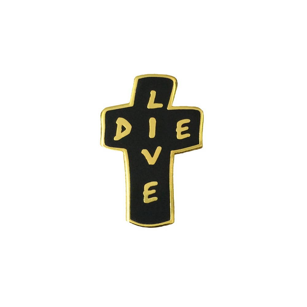Image of Live/Die Lapel Pin