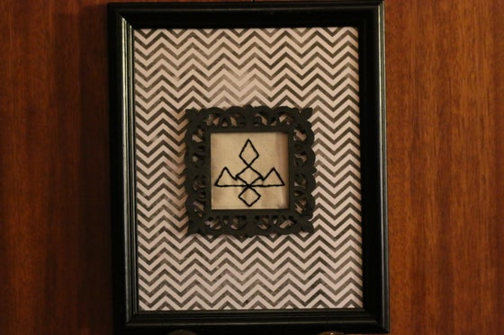 Image of The black lodge