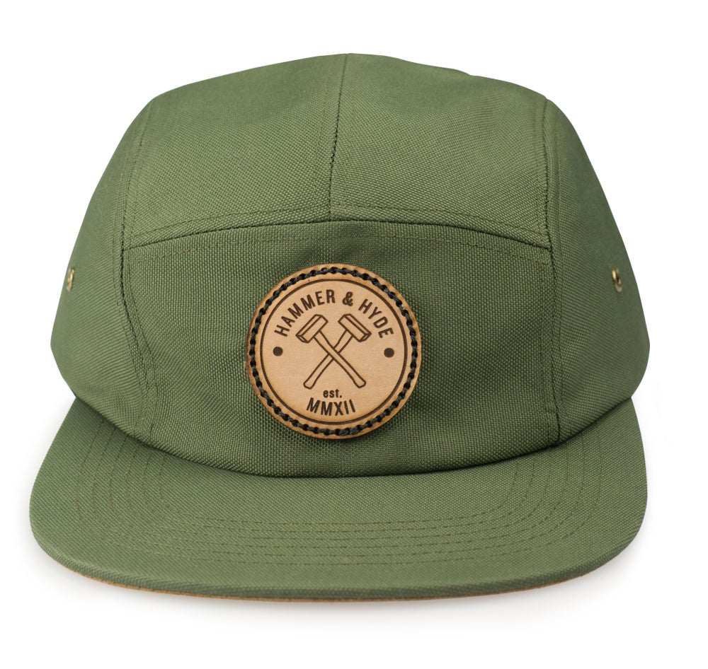 Image of Green 5 Panel Hat