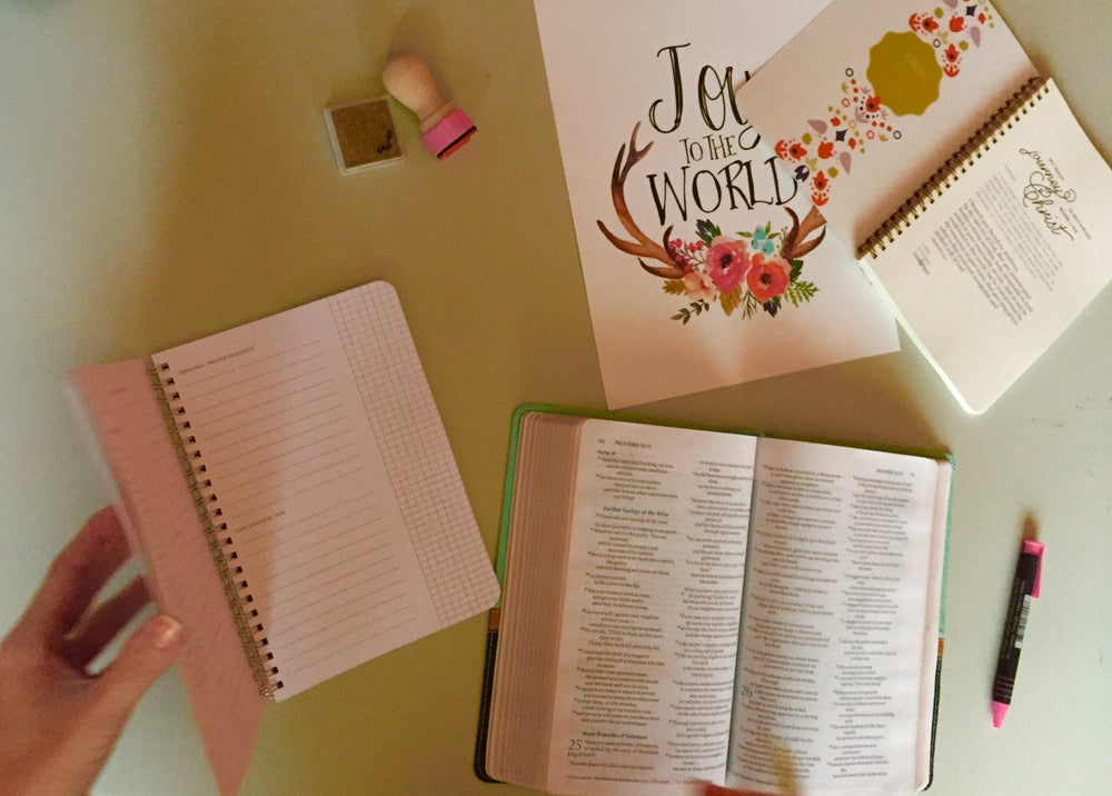 Image of Tulips and Fun Quiet Time Journal