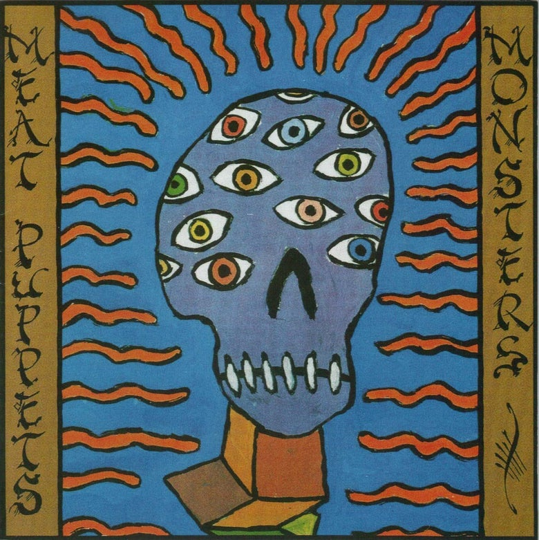 "Image of MEAT PUPPETS ""MONSTERS"" CD"