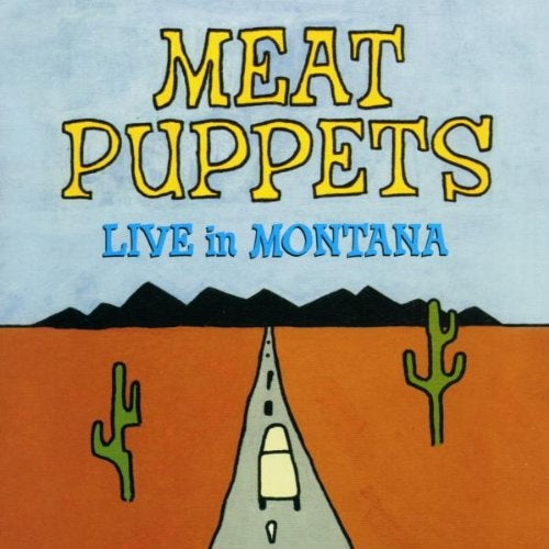 """Image of MEAT PUPPETS """"LIVE IN MONTANA"""" CD"""