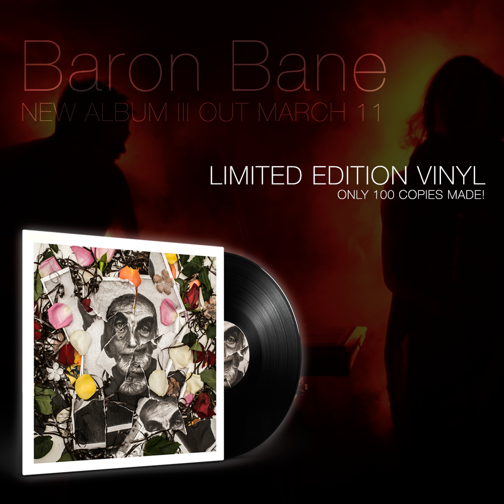 Image of Baron Bane - III (Black LP)