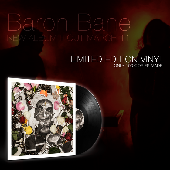 Image of Baron Bane - III (limited edition black vinyl)