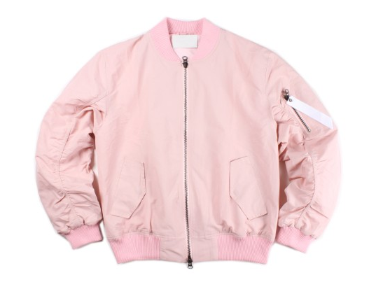 Image of LIMITED EDITION Bomber Jacket // Baby Pink