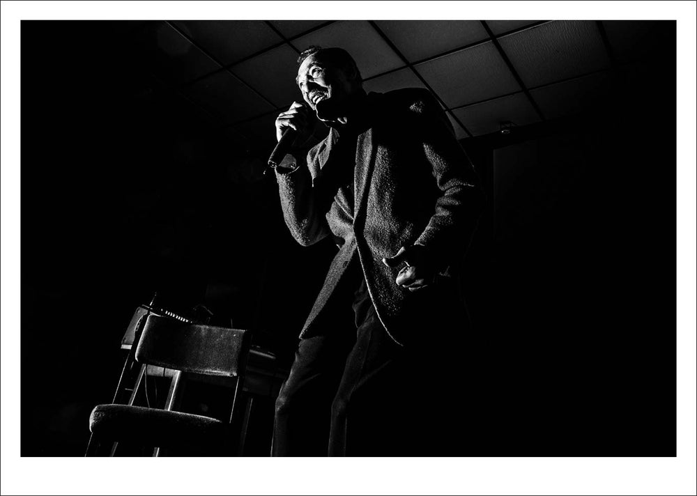 Image of Pemberton Central Soul Club Tommy Hunt live print