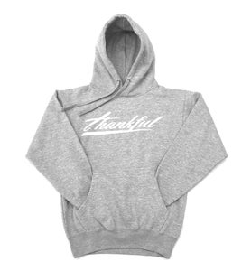 Image of THANKFUL SIGNATURE HOODIE (ATHLETIC GRAY)