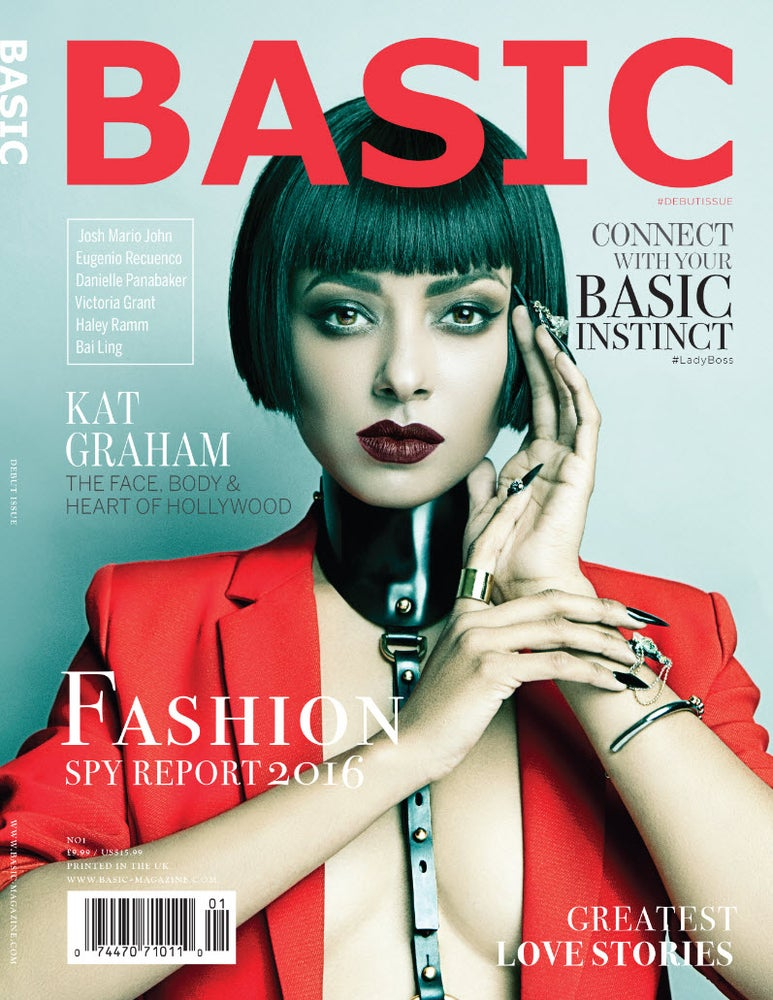 Image of BASIC KAT GRAHAM  || INSTINCT Issue 1