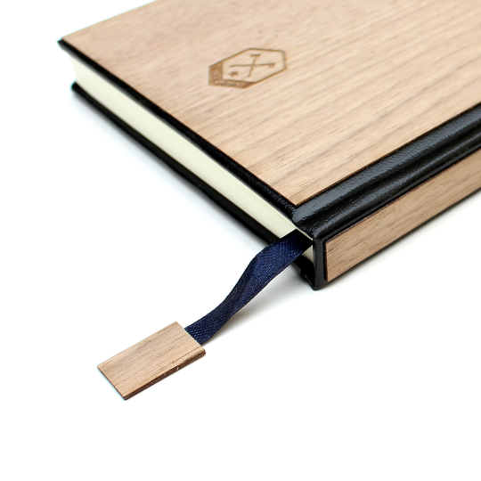 Image of TIMBER Wood Skin (Lined) Journal Small