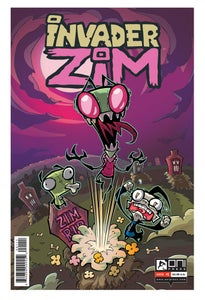 Image of INVADER ZIM signed back issues