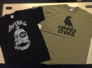 Image of Britanic Wehrmacht T Shirt / Nestless and Wild T Shirt