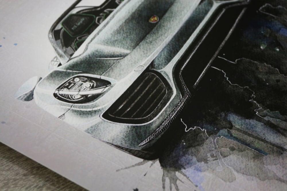 Image of Porsche 918 Poster Print