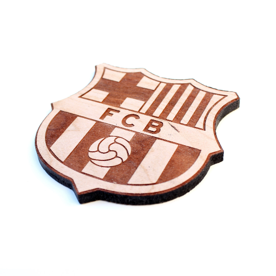 Image of 4pc. Club Football Coasters