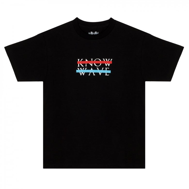 Image of Know Wave - Heart Logo T-Shirt (Black)