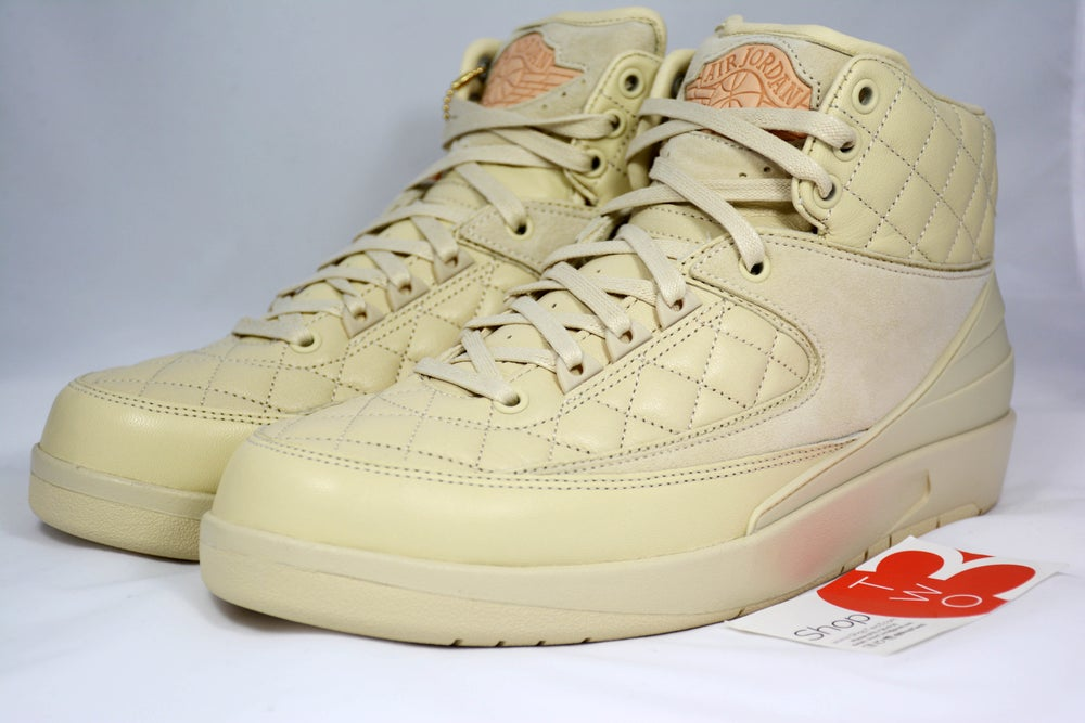 "Image of Air Jordan 2 Retro Don C ""Beach"" / Just Don Hat"