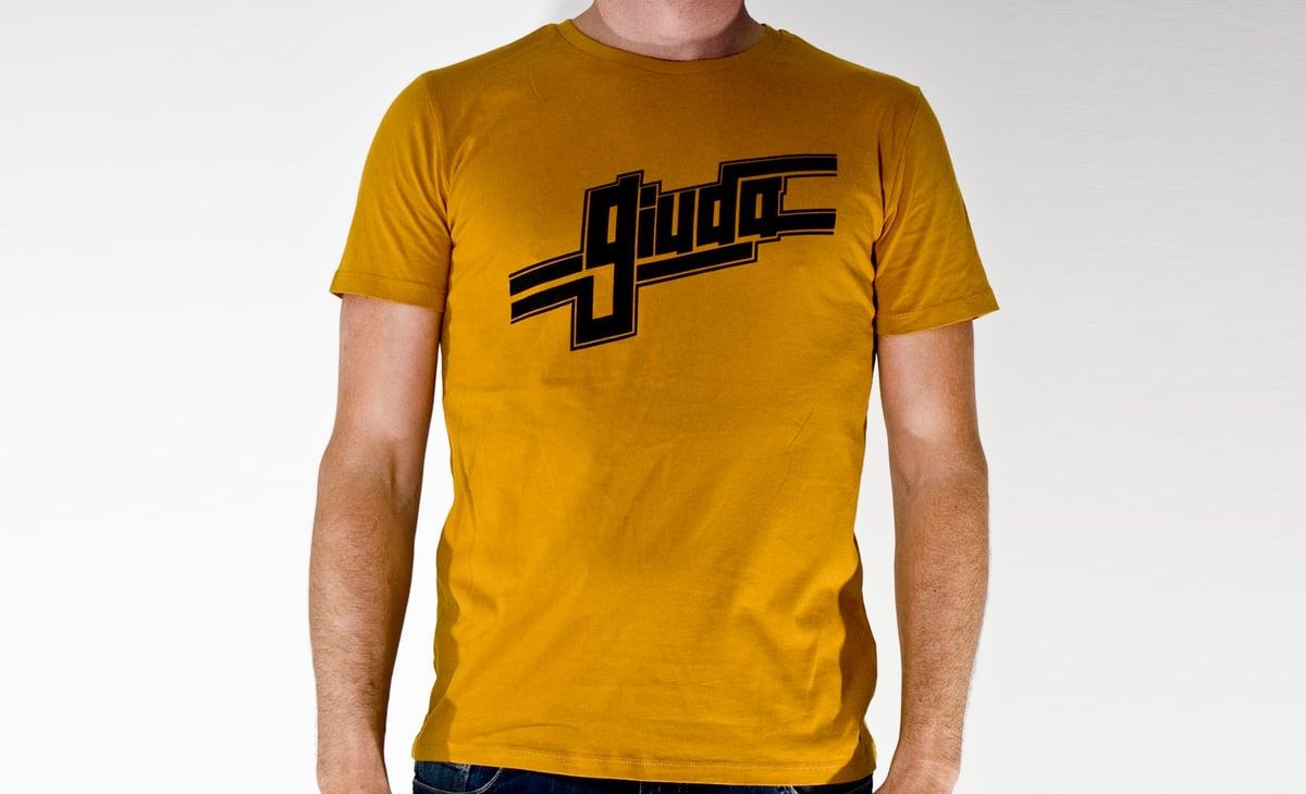 Image of T-shirt Giuda Let's do it again Logo