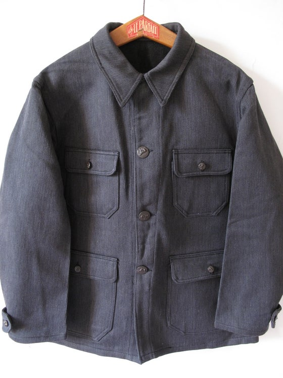 Image of <b>1930's Deadstock French Hunting Chore Jacket</b>
