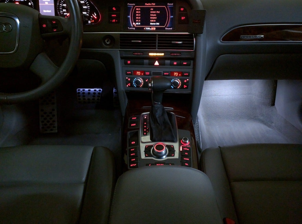 Image of Complete 8pc Interior LED Kit Crisp White-Error Free fits: Tiguan 2008-Current