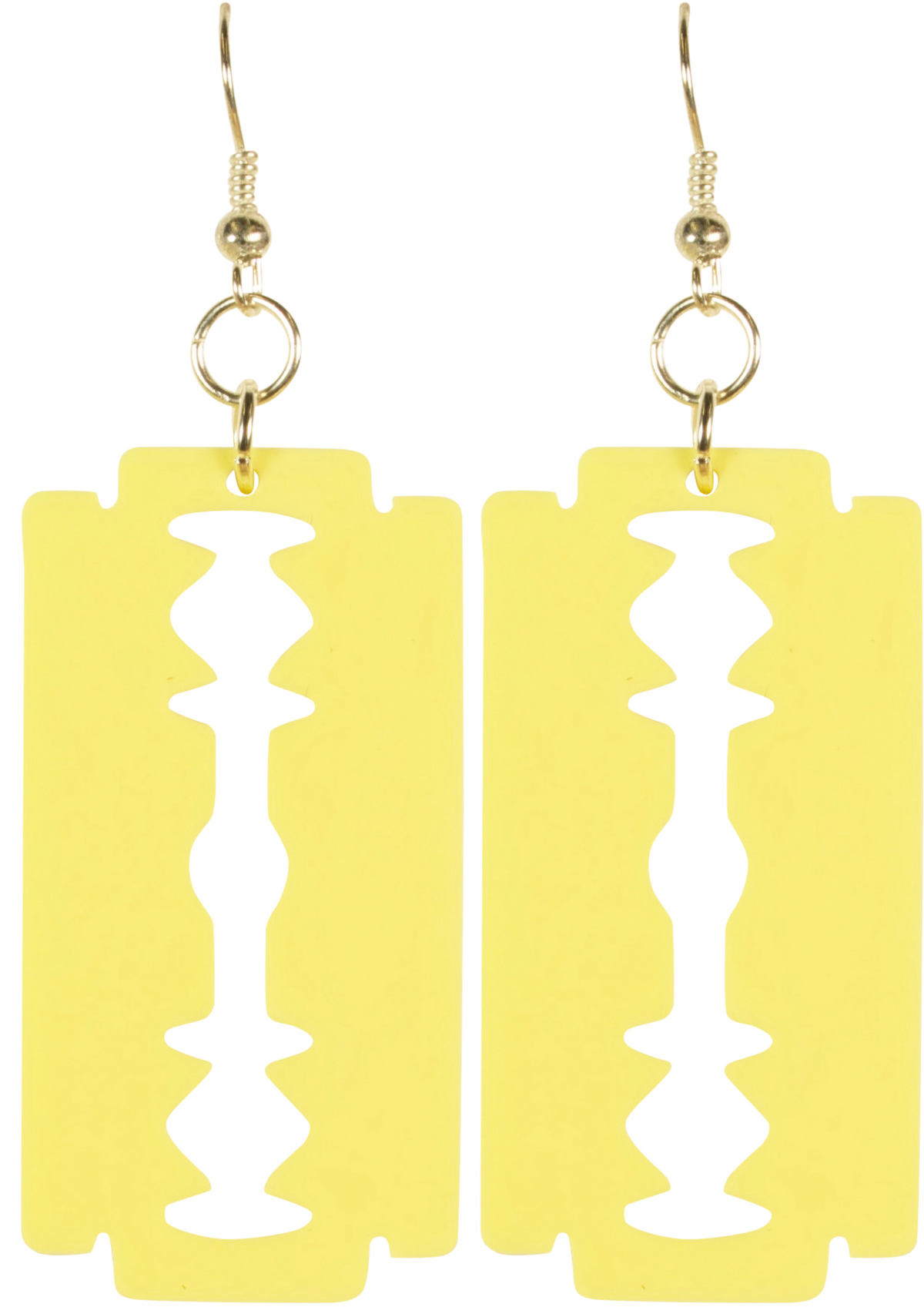 Image of Razor Blade Earrings (Other Colour Options Available)