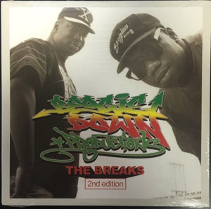Image of BOOGIE DOWN PRODUCTIONS THE BREAKS 2nd Edition LP