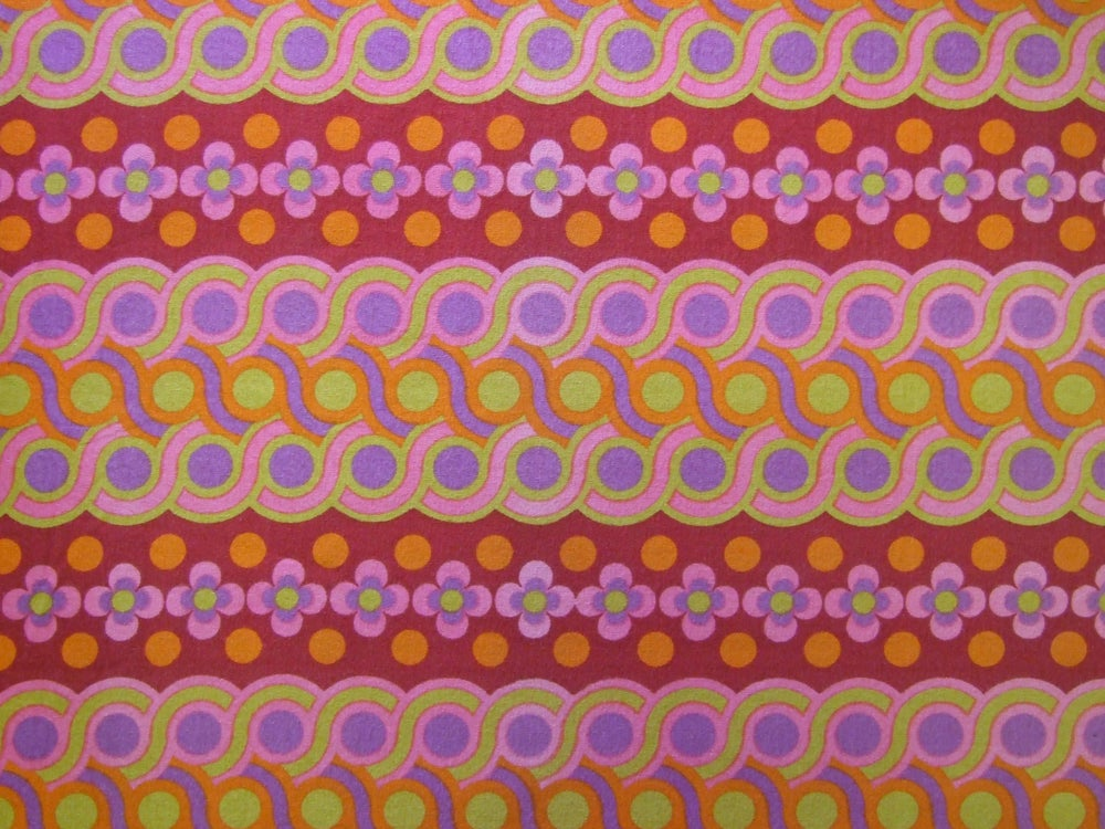 Image of Heals 'Guilloche' vintage fabric