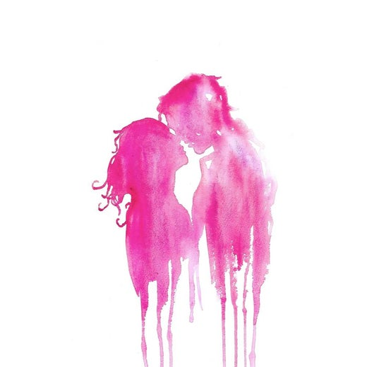The Kiss (Pink)