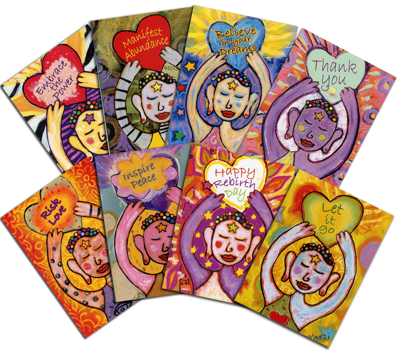Image of Karma Cards - Set of 8 - Colored