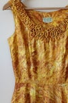Image of SOLD Golden Flames Dress