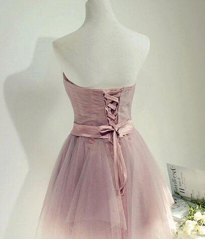 Adorable Short Tulle Handmade Formal Dresses, Homecoming Dresses, Mini Dresses