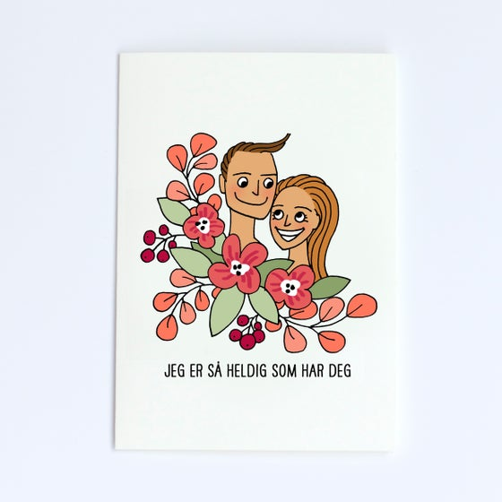 Image of Valentine couple