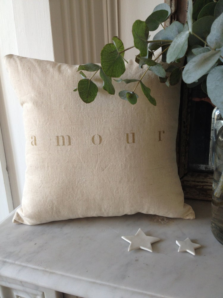 Image of coussin amour or small
